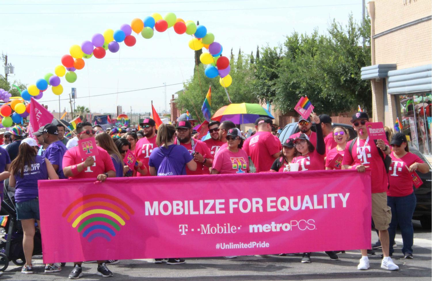 The El Paso Sun City Pride hosted their 11th annual pride parade Saturday morning in the El Paso Downtown area.