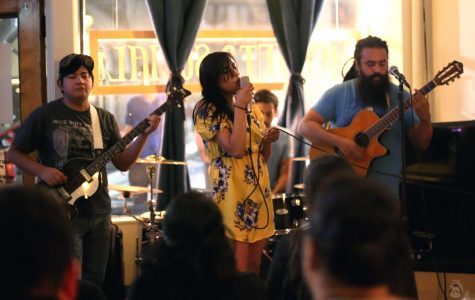 Helen Vargas sings with her band Dulce Mal at day two of Locals Week on Wednesday, June6 at Craft and Social.