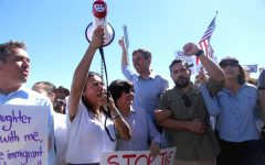 Hundreds march to demand an end to family separation at the border