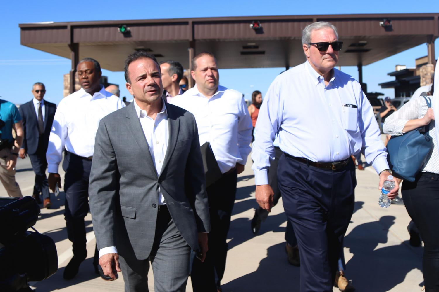 U.S.+mayors+meet+to+protest+at+the+border