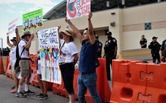 Hundreds protest in Downtown El Paso Saturday, June 30.