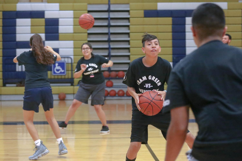 San+Antonio+Spurs+guard%2Fforward+Danny+Green+held+his+annual+Skills+Clinic+on+Saturday%2C+July+7+and+Sunday%2C+July+8+at+Coronado+High+School.