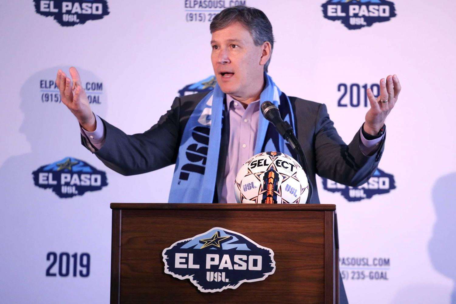 USL+President+Alan+Ledford+announces+that+Mark+Lowry+will+be+the+Head+Coach+and+Technical+Director+for+the+team+