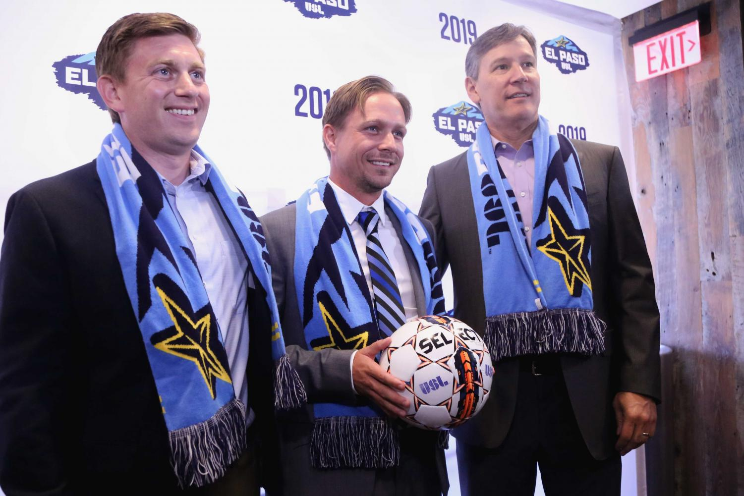 %28From+left+to+right%29+General+Manager+Andrew+Forrest+Head+Coach+and+Technical+Director+Mark+Lowry+and+USL+President+Alan+Ledford+pose+for+a+photo+after+the+announcement.+