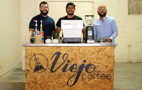 (From left to right) Ricardo Silva, Miguel De La Rocha, Jose Avélos are co-founders of Viejo Coffee.
