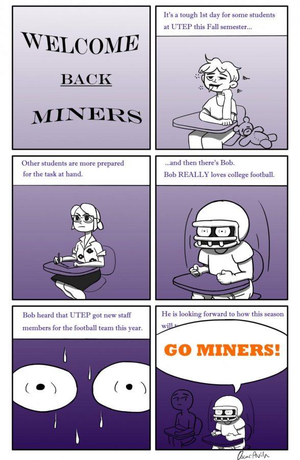 Cartoon of the week: Welcome back Miners