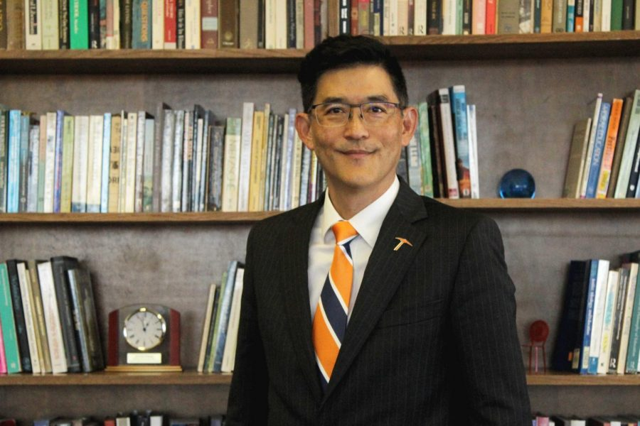 Clifton Tanabe is the new dean for the College of Education.