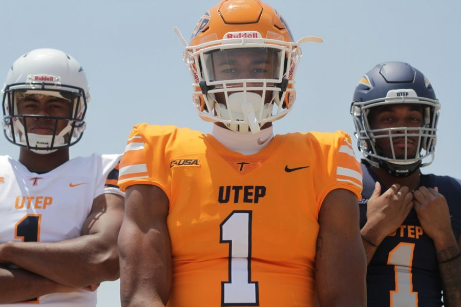 sports shoes 6e920 03d09 UTEP football flashes new uniforms in wake of the season ...