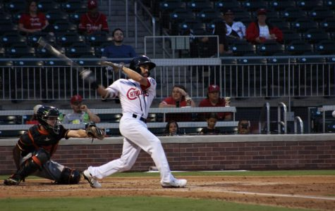 El Paso Chihuahuas Carlos Asuaje at the game against the Fresno Grizzlies on Wednesday, Sept. 5 at Southwest University Park.