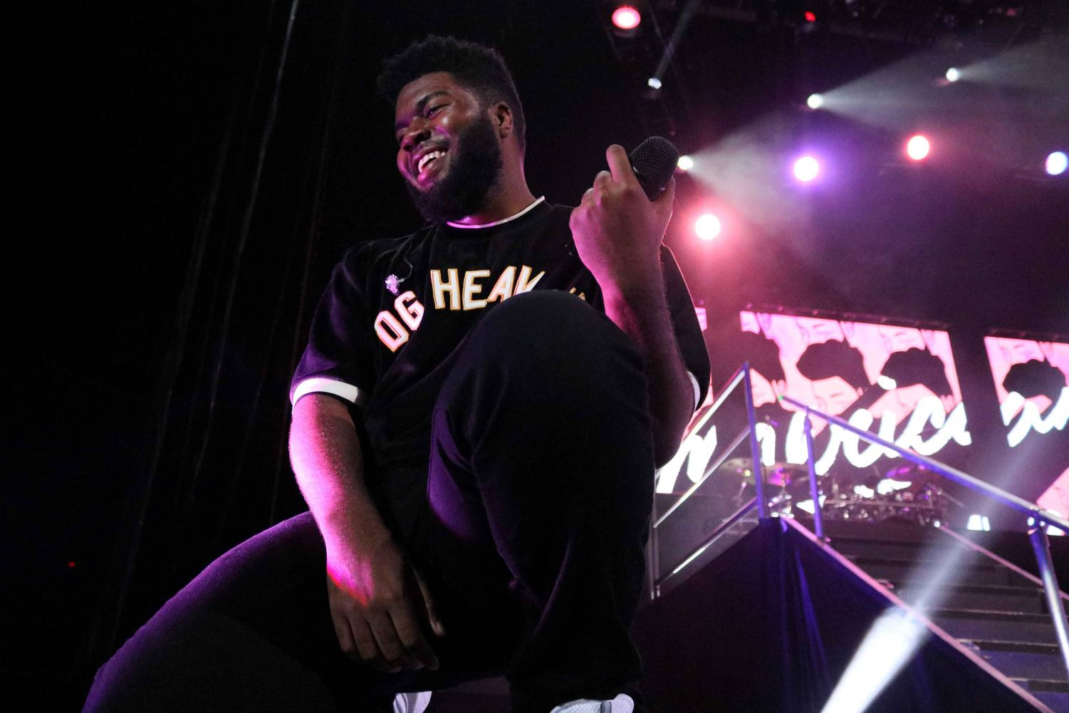 Khalid performs for a sold out crowd in the first of his two hometown shows at the Don Haskins Center on Friday, Sept. 14.
