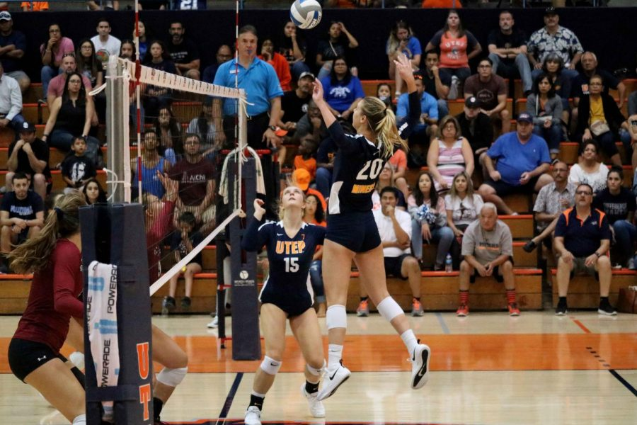 UTEP Volleyball falls in three sets against NMSU