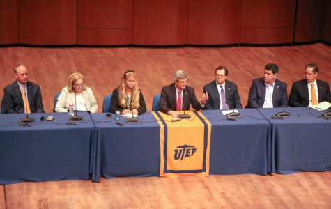 Presidential Advisory Search Committee host town hall meeting
