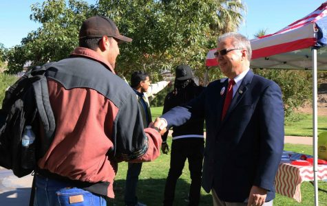 Rick Seeberger rallies at UTEP before end of early voting