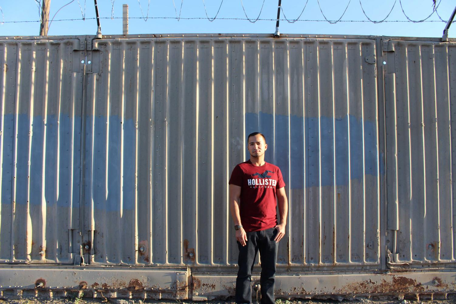 Matt Luna became chronically homeless at 27, but is now realigning his life by working and studying.
