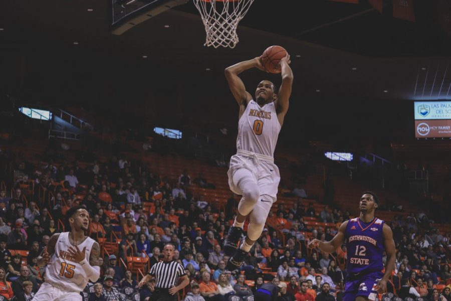 The Miners beat the Northwestern State Demons on Saturday night, Dec. 1 at the Don Haskins Center.