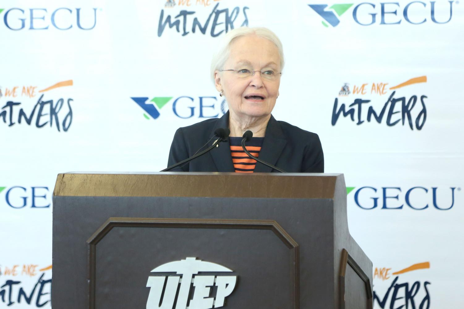 In May President Natalicio announced she will be retiring after 30 years as UTEP president.