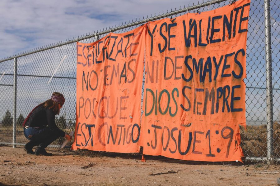 Kids who spent time in Tent City write this message to the new kids who will be spending time at Tent City.