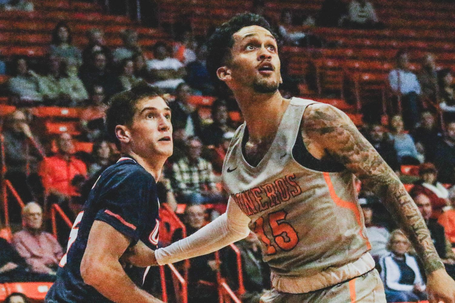 The Miners fall to UTSA 63-67 on Saturday night Jan. 5 at the Don Haskins Center.