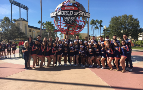 UTEP Cheer participates in national cheer competition