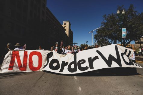 UTEP students protest against Heather Wilson becoming President