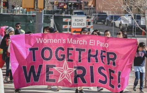 Hundreds gather for third annual Women's March in Downtown El Paso