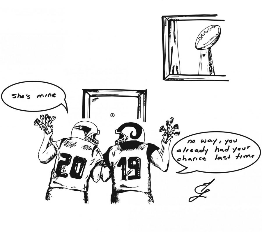 The Prospector weekly cartoons presents: who will win the big game
