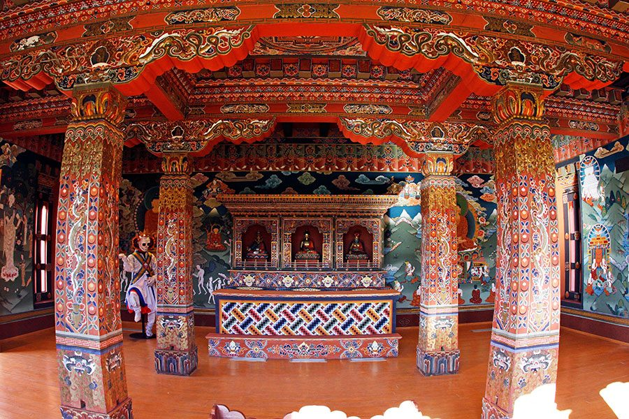 Bhutan+Cultural+Exhibit+tells+many+stories+through+its+art