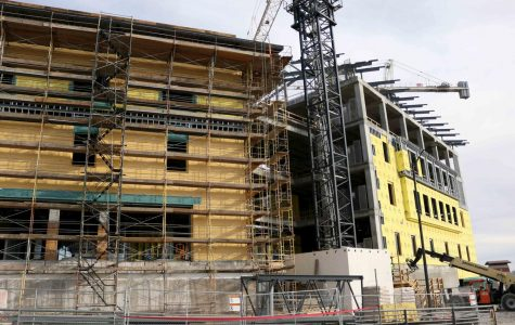The Interdisciplinary Research Building's construction continues unhindered