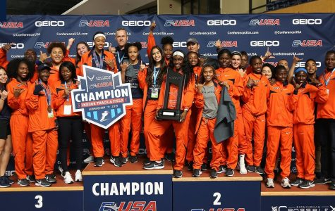 UTEP women's track and field sprints to championship