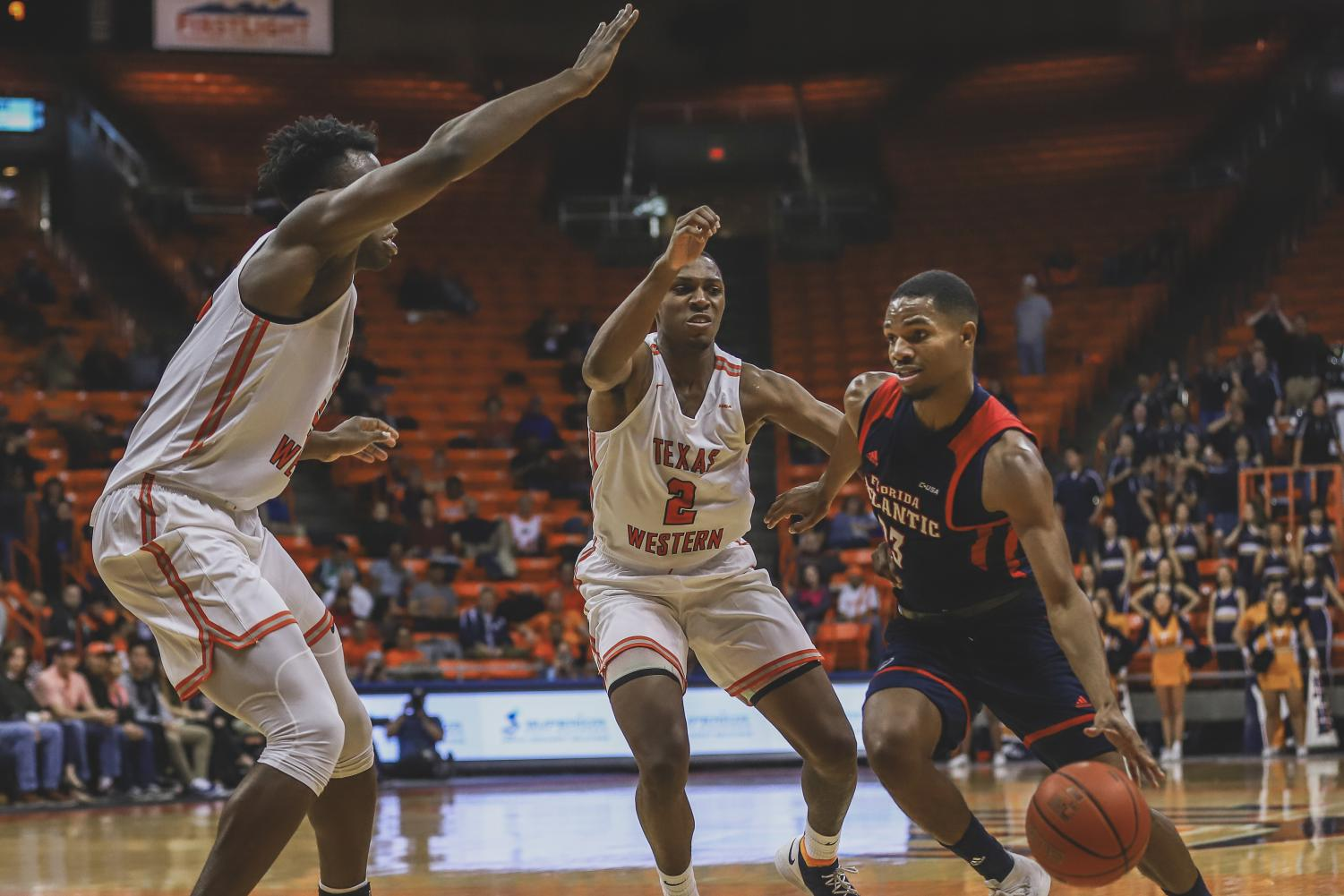 The Miners fall to FAU on Thursday, Feb. 7 at the Don Haskins Center.