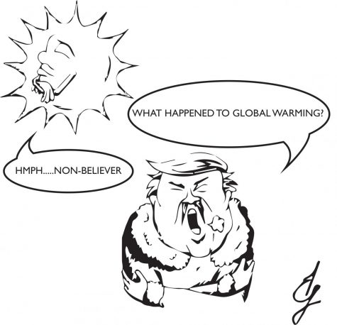 Global warming believer