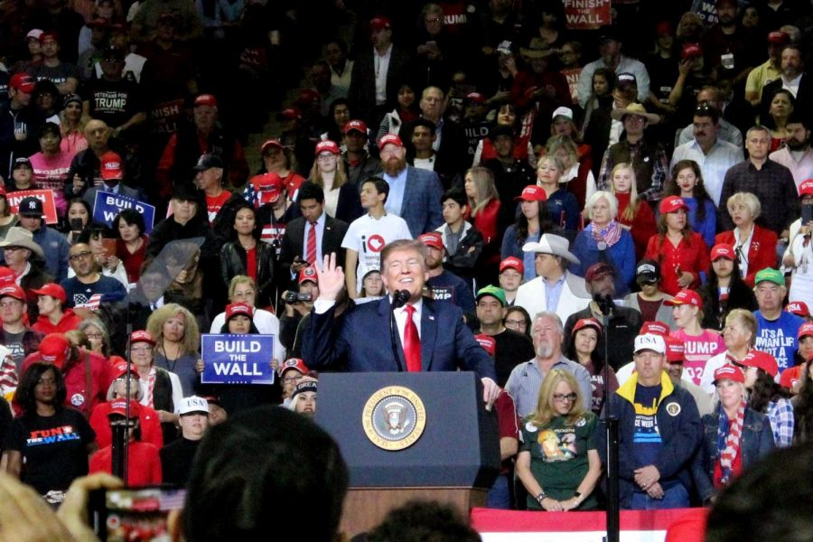 El Paso shows both love and hate for President Donald Trump