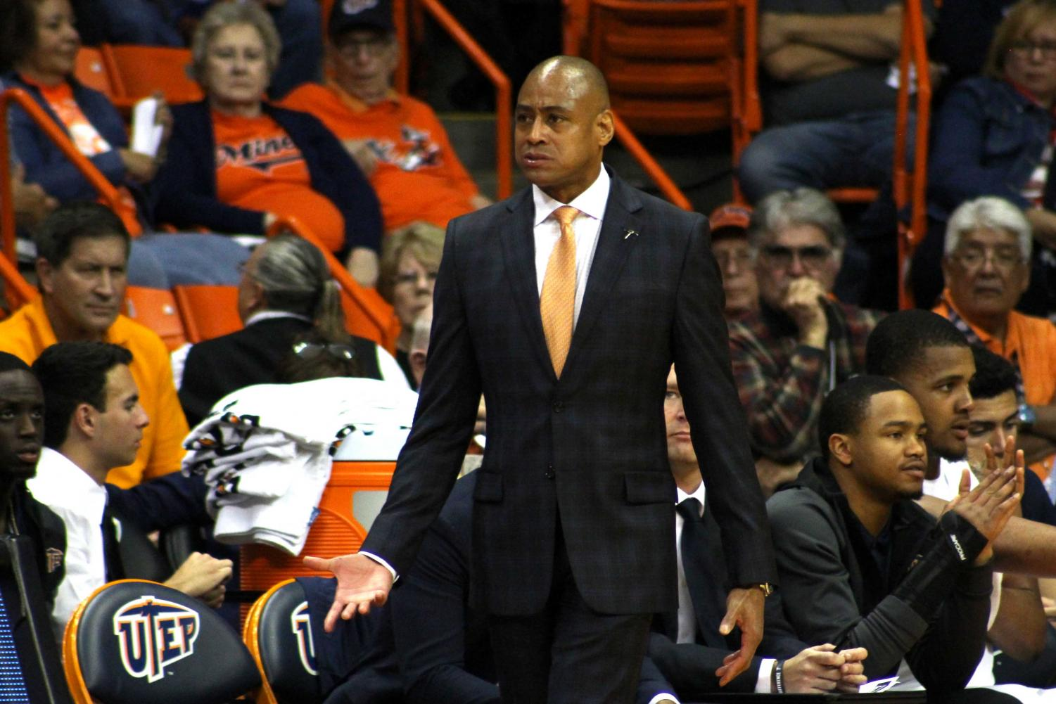 UTEP head coach Rodney Terry looks to lead his young Miner team into group play. The Miners are currently in 13th place in the Conference-USA standings.