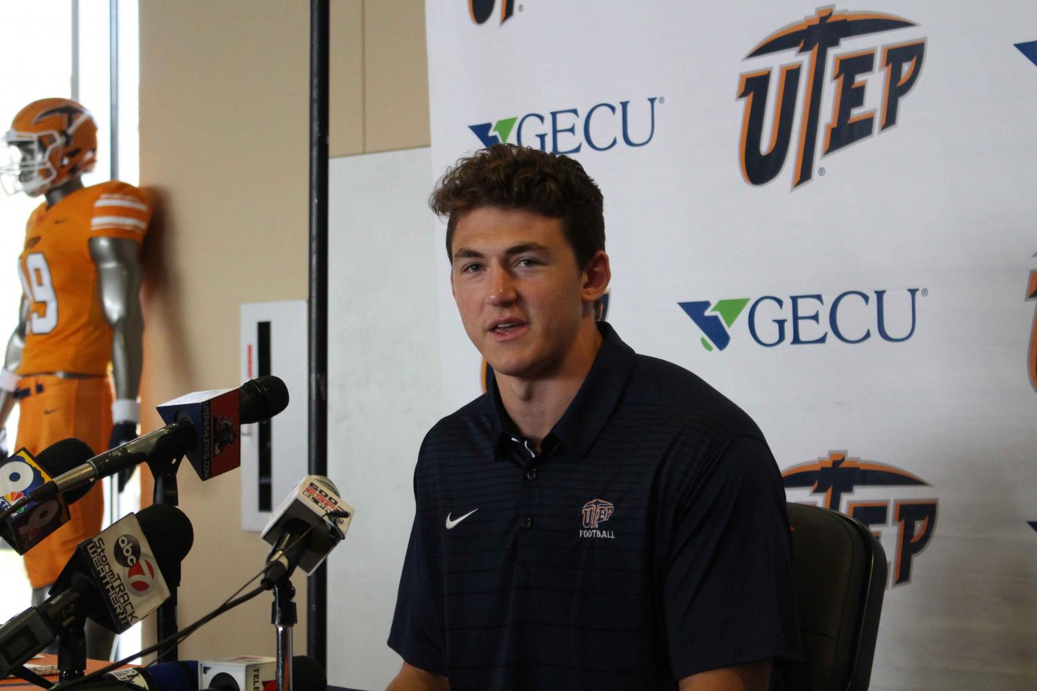 Redshirt junior tight end Luke Laufenberg was introduced on National Signing Day as part of the 2019 UTEP football recruiting class. Luke died early Thursday morning after a long battle with cancer.