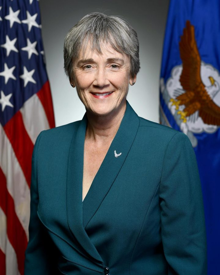 U.S. Secretary of the Air Force, Heather Wilson, has been selected to succeed Dr. Diana Natalicio as UTEP president. (Photo courtesy of the U.S. Department of Defense.)