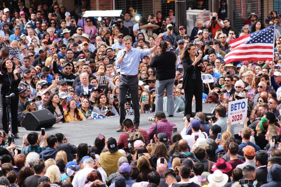 Thousands+of+people+at+Beto+2020+rally+Saturday+at+El+Paso%2C+Texas.+