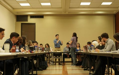 UTEP Student Government Association hears student concerns on president pick