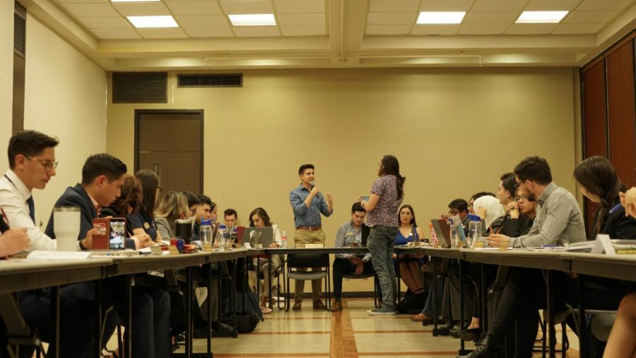 UTEP+Student+Government+Association+hears+student+concerns+on+president+pick