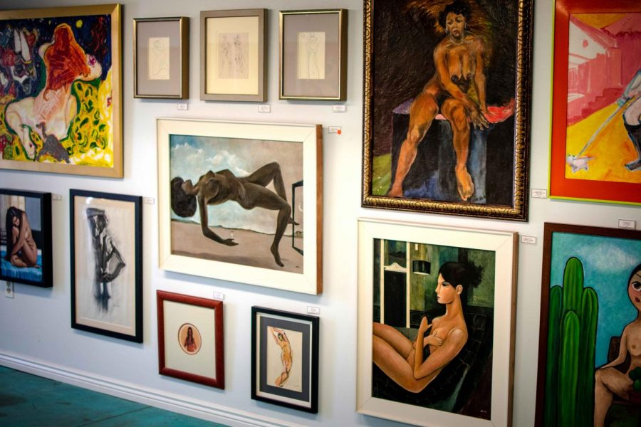 'Nudes & More' adorns the walls of Hal Marcus