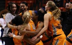 Miners upset Marshall in double overtime