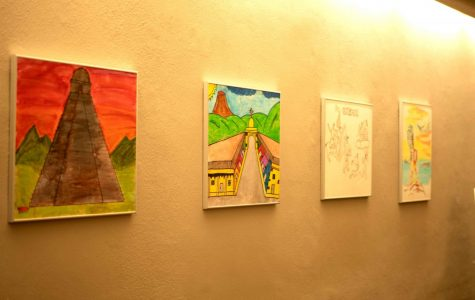 New exhibit showcases art collection created by children in Tornillo