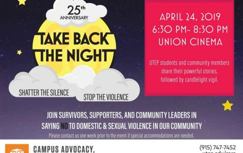 Take back the night celebrates 25th year anniversary