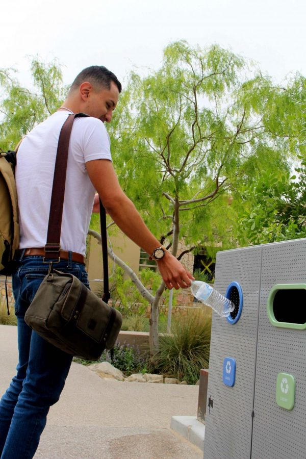 How to help recycle on campus
