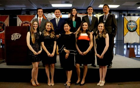 UTEP Top Ten Seniors recognized by UTEP Alumni Association