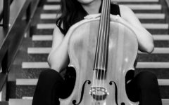 Graduate Amy Miller masters the cello