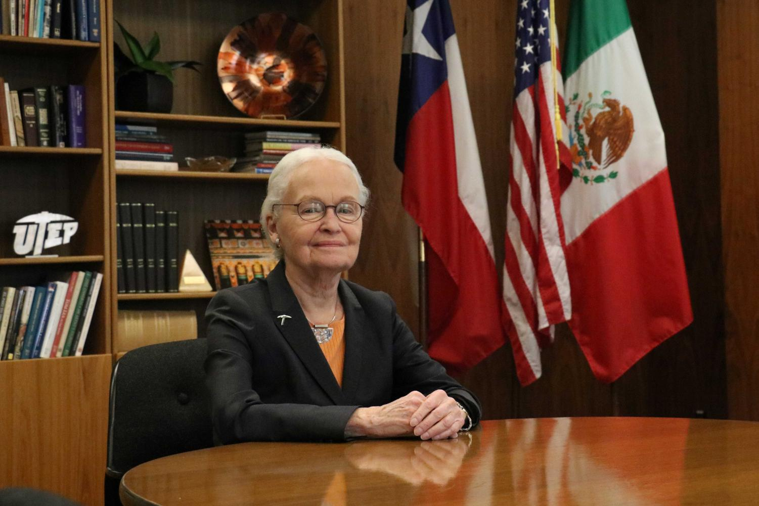 UTEP President Dr. Diana Natalicio announced her retirement from the university May 22 2018.