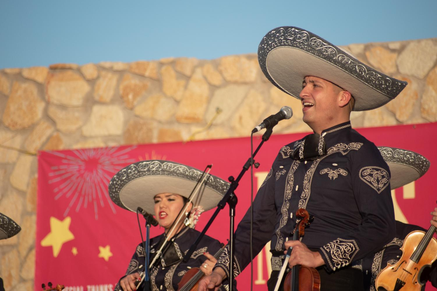 June 30, 2019. Mariachi Alegre performs at the Chamizal National Park during the 36th season of Music Under the Stars.