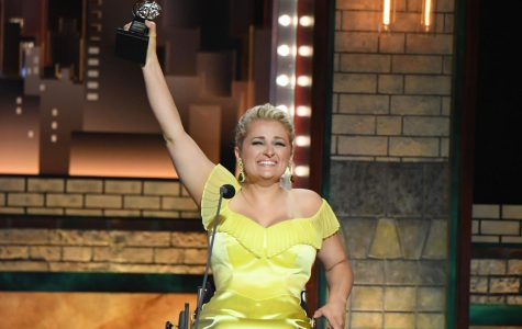 Ali Stroker became the first wheelchair-using actor male or female to win a Tony Award.
