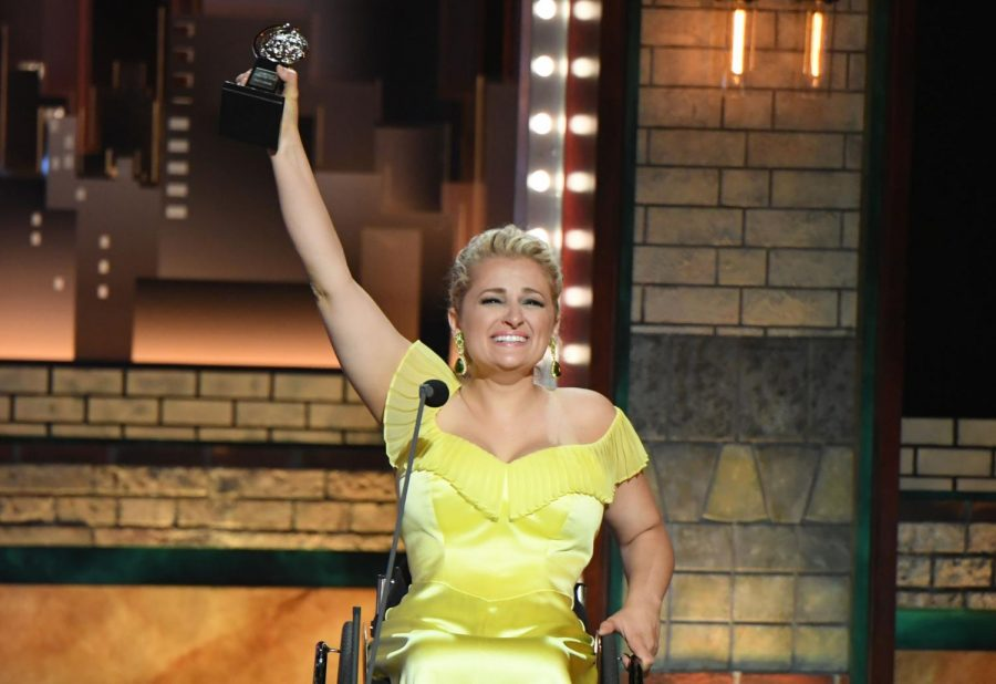 Ali+Stroker+became+the+first+wheelchair-using+actor+male+or+female+to+win+a+Tony+Award.