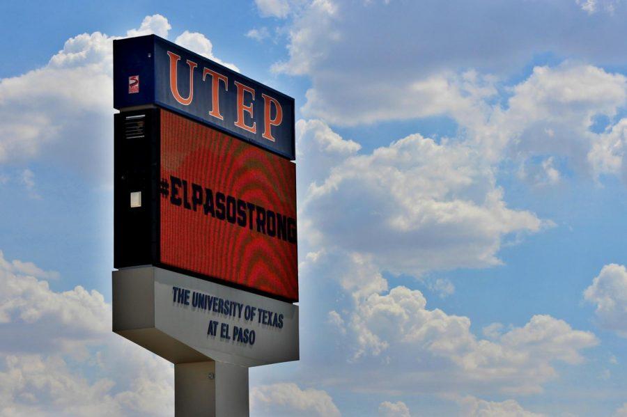 %23ELPASOSTRONG+sign+at+UTEP+